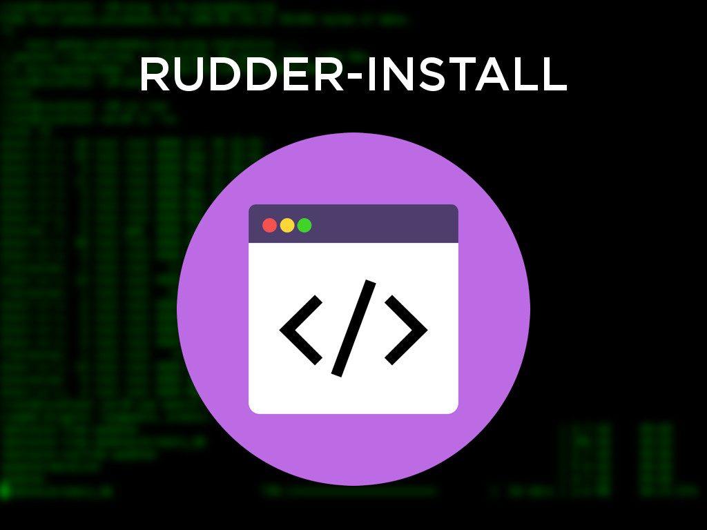 rudder-install